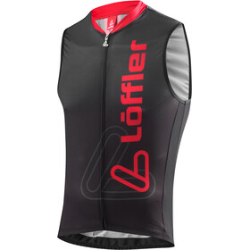 Löffler Racing Bike Tanktop Full-Zip Herren schwarz/rot